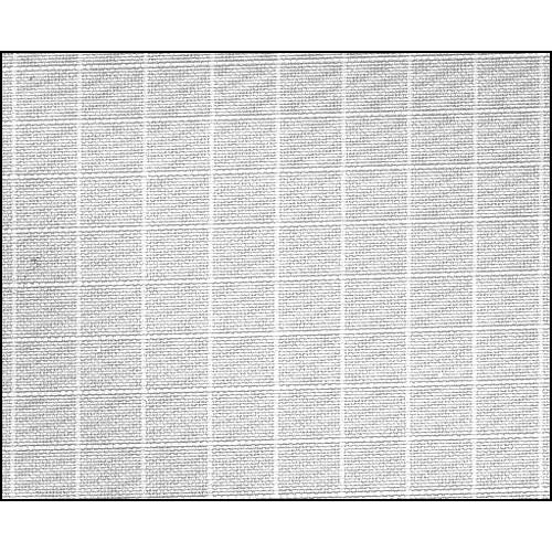 Rosco Fluorescent Lighting Sleeve/Tube Guard ( #3062 Silent Light Grid Cloth, 3' Long)