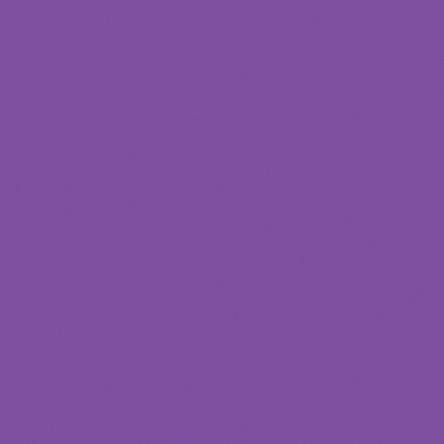 Rosco Fluorescent Lighting Sleeve/Tube Guard ( #348 Purple Jazz, 3' Long)