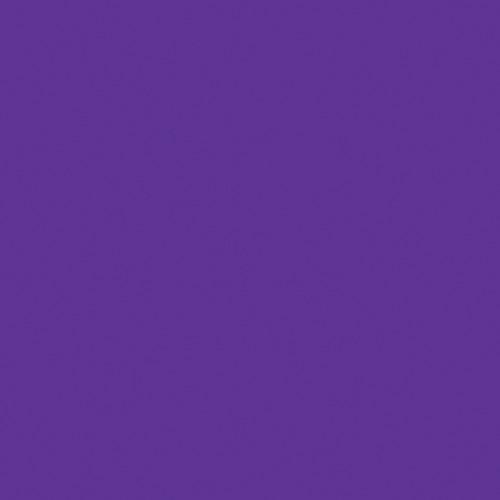 Rosco Fluorescent Lighting Sleeve/Tube Guard ( #358 Rose Indigo, 3' Long)