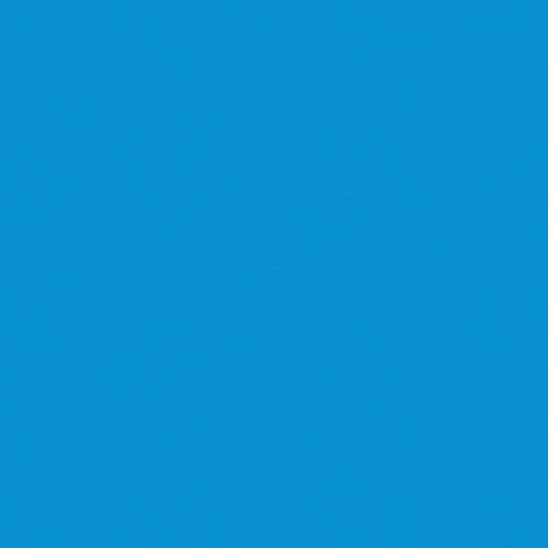 Rosco Fluorescent Lighting Sleeve/Tube Guard ( #362 Tipton Blue, 3' Long)