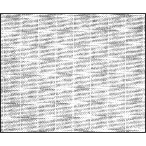 Rosco Fluorescent Lighting Sleeve/Tube Guard (#3060 Silent Grid Cloth , 3' Long)