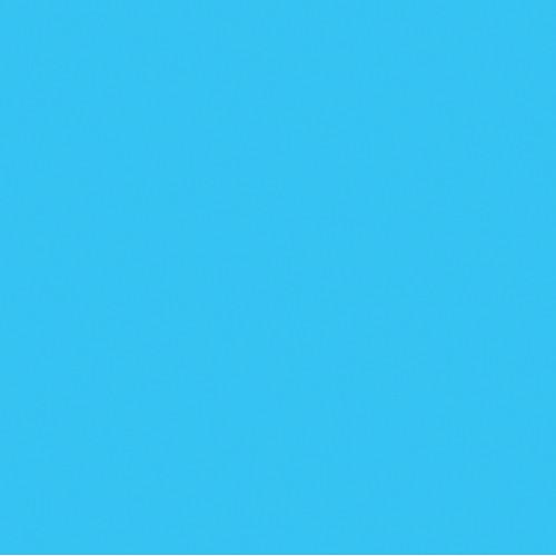 Rosco Fluorescent Lighting Sleeve/Tube Guard (#369 Tahitian Blue, 3' Long)