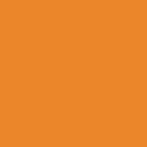 Rosco Fluorescent Lighting Sleeve/Tube Guard (#Storaro 2002 Orange ,4' Long)