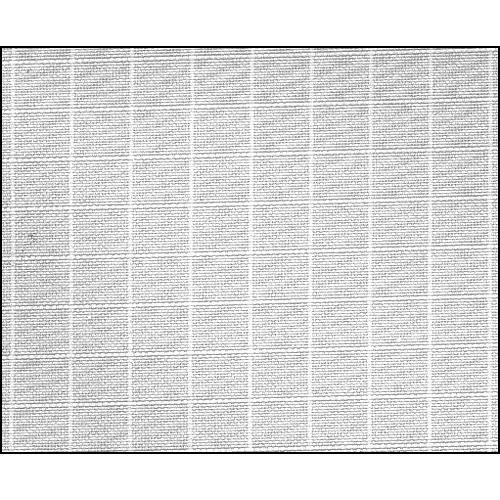 Rosco Fluorescent Lighting Sleeve/Tube Guard (#3032 Light Grid Cloth ,4' Long)
