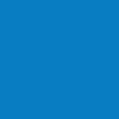 Rosco Fluorescent Lighting Sleeve/Tube Guard (#365 Tharon Delft Blue ,4' Long)
