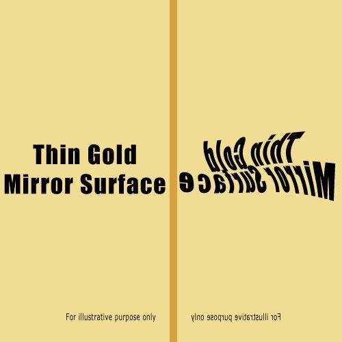 Rosco Fluorescent Lighting Sleeve/Tube Guard (#3814 Thin Mirror G ,4' Long)