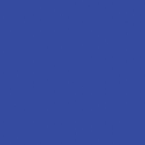 "Rosco #383 Sapphire Blue Fluorescent Sleeve T12 (48"")"
