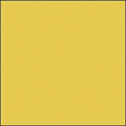 "Rosco Permacolor - Bright Straw - 8-1/4"" Round"