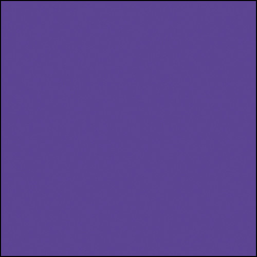 "Rosco Permacolor Glass Filter - Purple Fusion - 5-1/4"" Round"