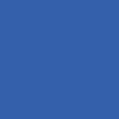 "Rosco Permacolor - Mediterranean Blue - 8-1/4"" Round"