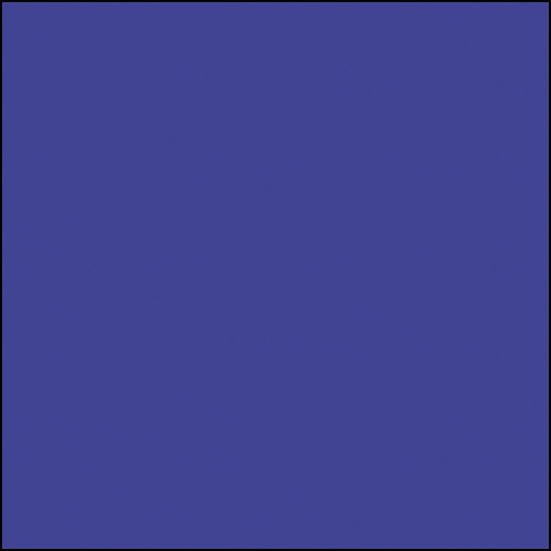 """Rosco Permacolor Glass Filter - Primary Blue - 5-1/4"""" Round"""