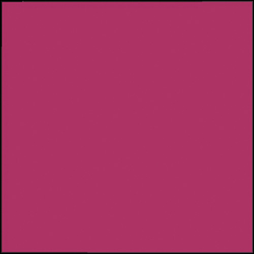 """Rosco Permacolor Glass Filter - Hot Pink - 6.3"""" Round"""