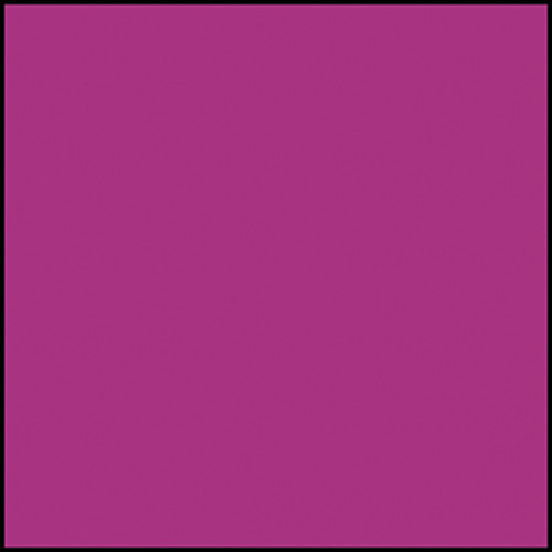 """Rosco Permacolor Glass Filter - Deep Magenta - 8-1/4"""" Round"""
