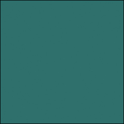 """Rosco Permacolor Glass Filter - Turquoise - 6.3"""" Round"""