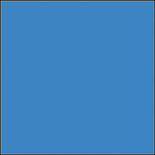 """Rosco Permacolor Glass Filter - Cyan - 6.3"""" Round"""