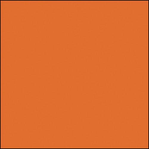 """Rosco Permacolor - Medium Orange - 5-1/4"""" Round"""