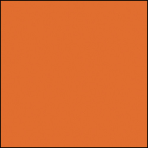 "Rosco Permacolor - Medium Orange - 2x2"" Square"