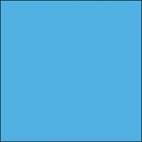 "Rosco Permacolor Glass Filter - Sea Blue - 6.3"" Round"