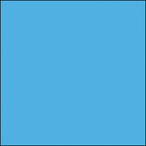 """Rosco Permacolor - Sea Blue - 2x2"""" Square"""