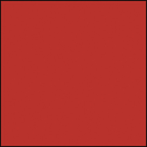 "Rosco Permacolor Glass Filter - Flame Red - 6.3"" Round"