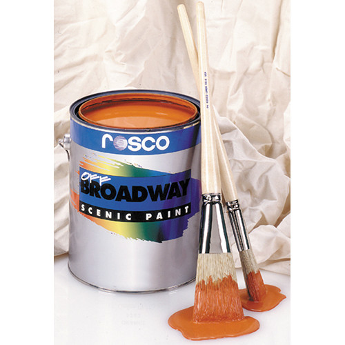 Rosco Off Broadway Paint - Black - 1 Gal.
