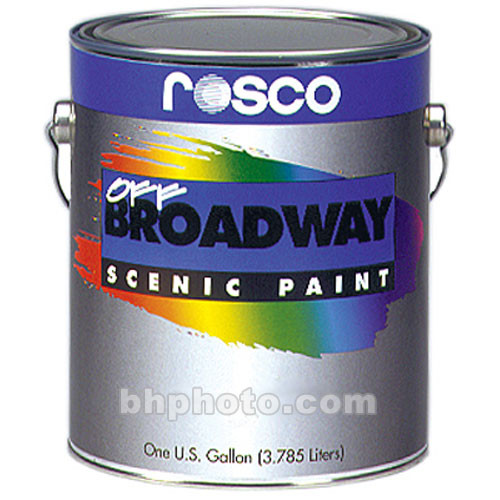 Rosco Off Broadway Paint - Earth Umber - 1 Gallon