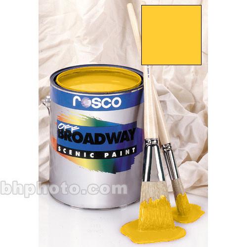 Rosco Off Broadway Paint - Golden Yellow - 1 Gal.