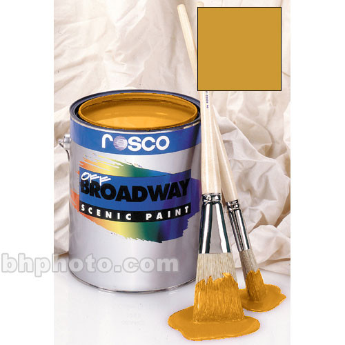 Rosco Off Broadway Paint - Bright Gold  - 1 Pt