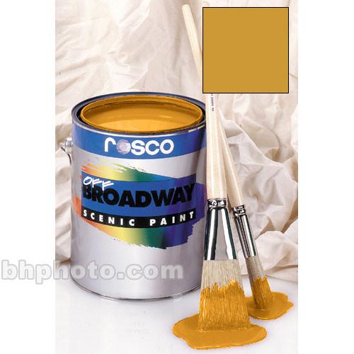 Rosco Off Broadway Paint - Bright Gold  - 1 Qt