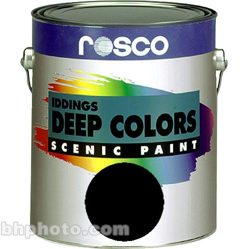 Rosco Iddings Deep Colors Paint - Black - 1 Qt.
