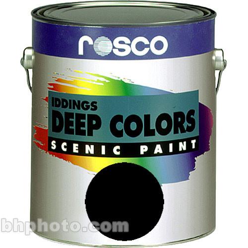 Rosco Iddings Deep Colors Paint - Black