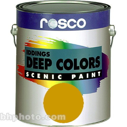 Rosco Iddings Deep Colors Paint - Yellow Ochre
