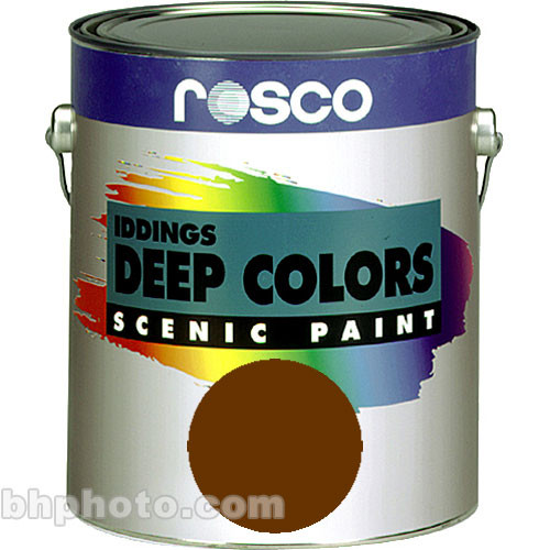 Rosco Iddings Deep Colors Paint - Burnt Umber - 1 Gal.