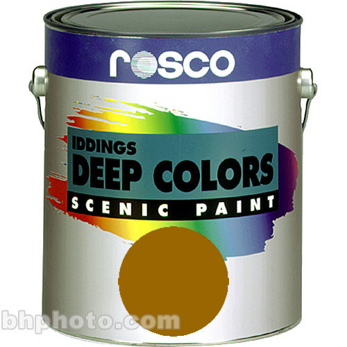 Rosco Iddings Deep Colors Paint - Raw Sienna