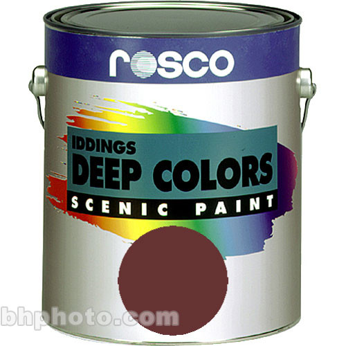 Rosco Iddings Deep Colors Paint - Raw Umber - 1 Gal.