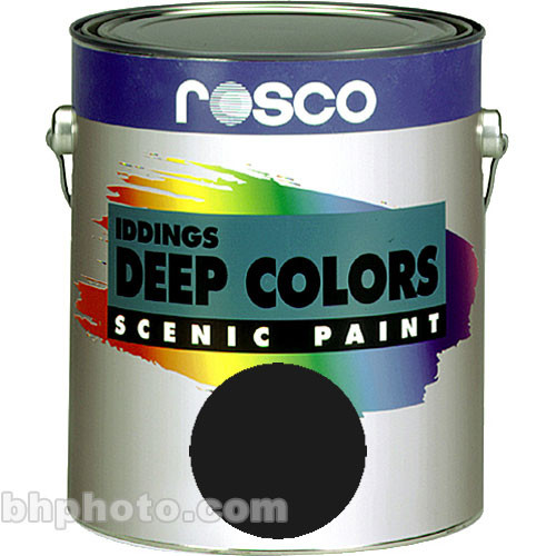 Rosco Iddings Deep Colors Paint - Van Dyke Brown - 1 Qt.