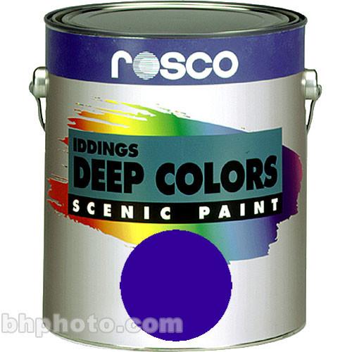 Rosco Iddings Deep Colors Paint - Ultramarine Blue - 1 Qt.