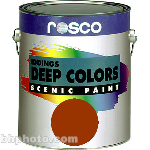 Rosco Iddings Deep Colors Paint - Red - 1 Gal.