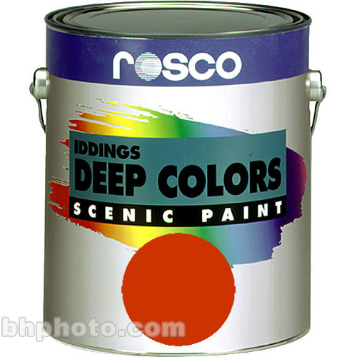 Rosco Iddings Deep Colors Paint - Bright Red