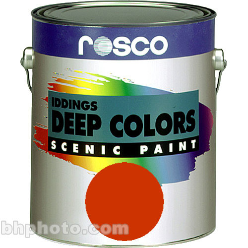 Rosco Iddings Deep Colors Paint - Bright Red - 1 Gal.
