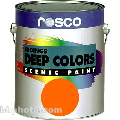 Rosco Iddings Deep Colors Paint - Orange - 1 Qt.