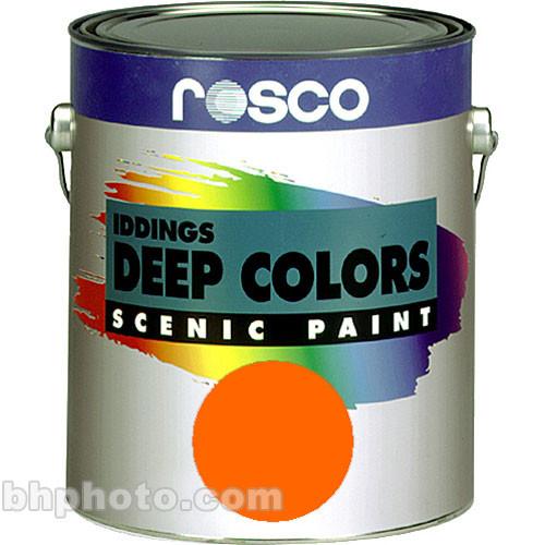 Rosco Iddings Deep Colors Paint - Orange