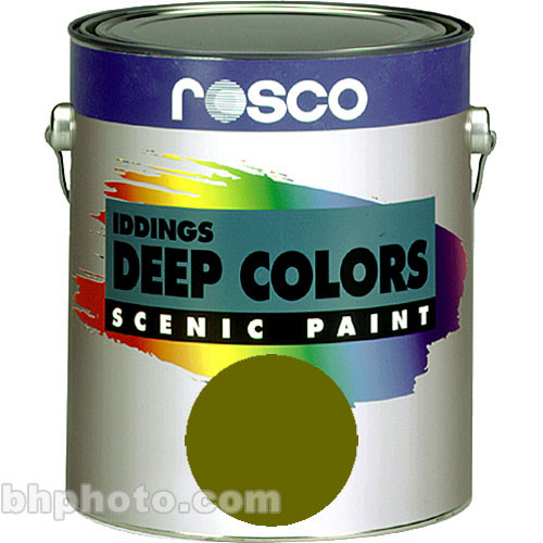 Rosco Iddings Deep Colors Paint - Chrome Oxide Green - 1 Qt.