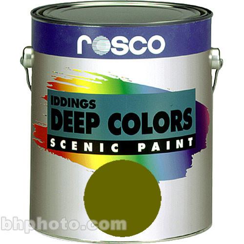 Rosco Iddings Deep Colors Paint - Chrome Oxide Green - 1 Gal.