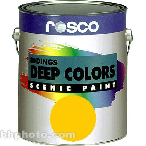 Rosco Iddings Deep Colors Paint - Lemon Yellow