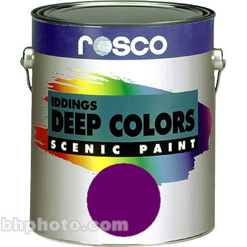 Rosco Iddings Deep Colors Paint - Purple - 1 Gal.