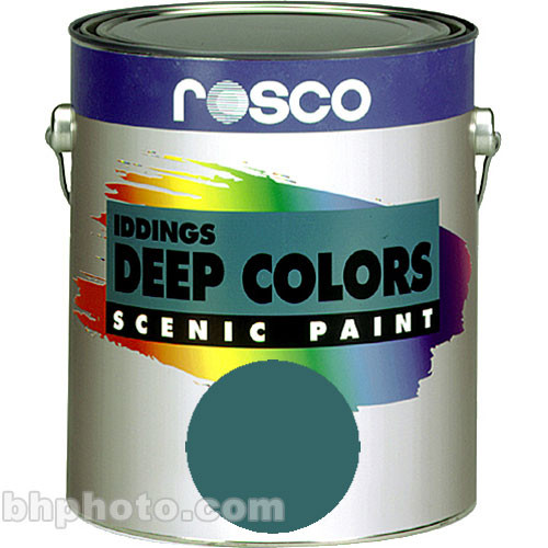 Rosco Iddings Deep Colors Paint - Turquoise Blue