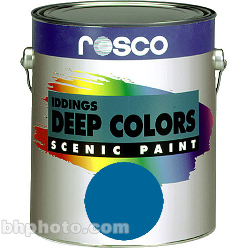 Rosco Iddings Deep Colors Paint - Cerulean Blue