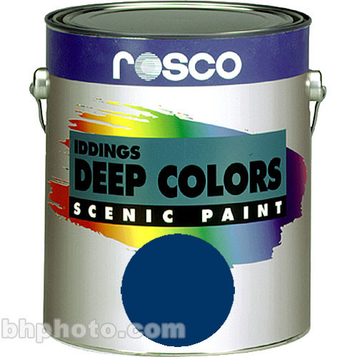 Rosco Iddings Deep Colors Paint - Navy Blue - 1 Gal.