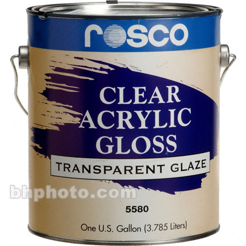 Rosco Clear Gloss Acrylic Glaze